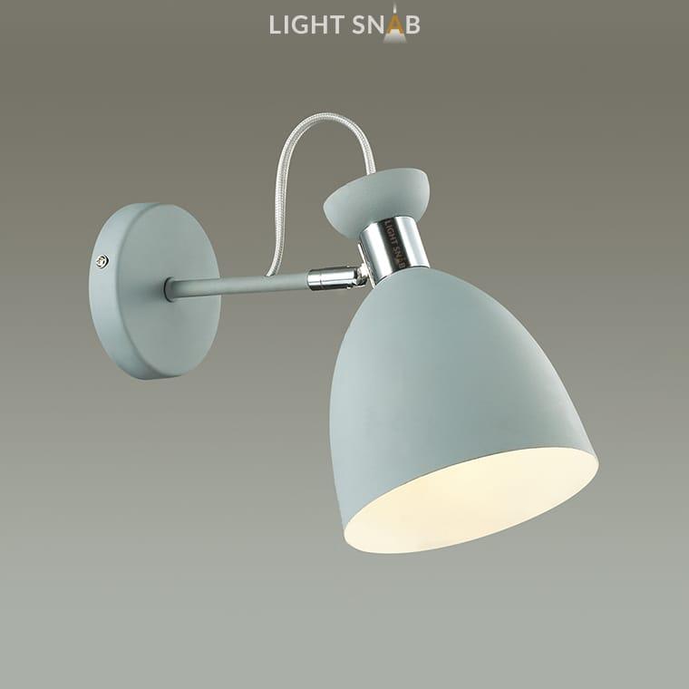 Настенный светильник Gent Wall цвет серый