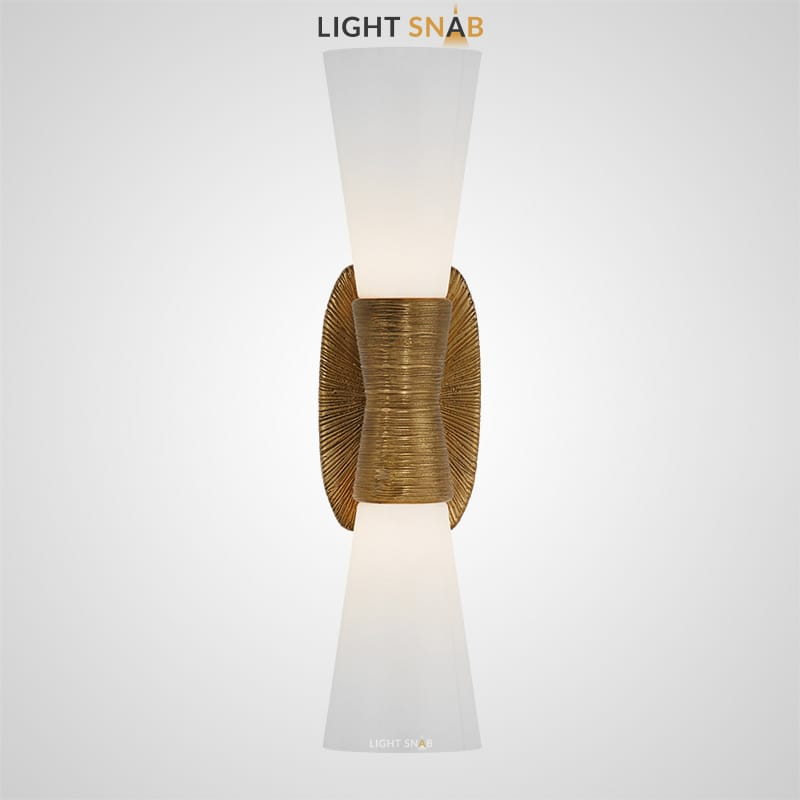 Дизайнерский настенный светильник Glade 2 лампы