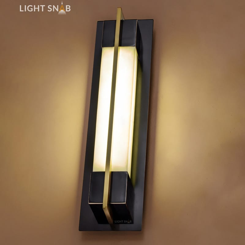 Настенный светодиодный светильник Glee C размер M цвет черный