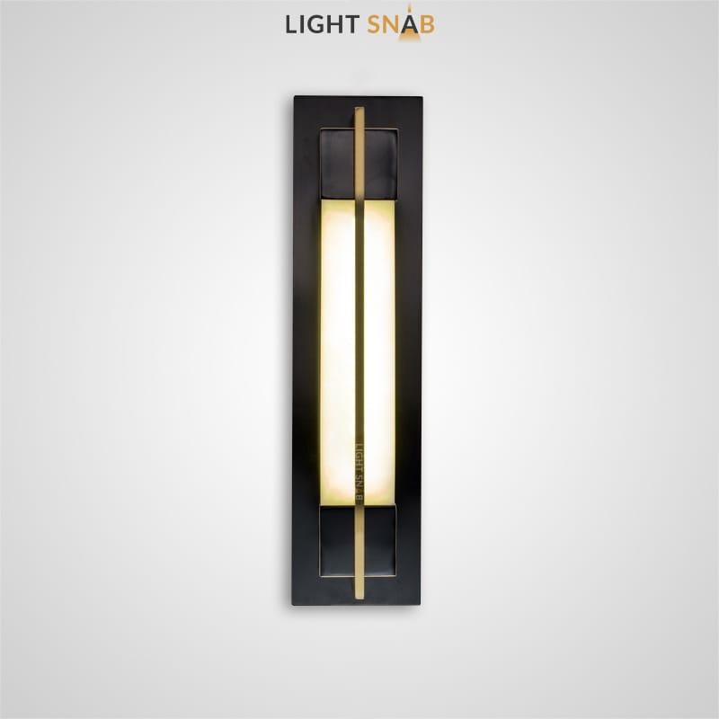 Настенный светодиодный светильник Glee C размер S цвет черный