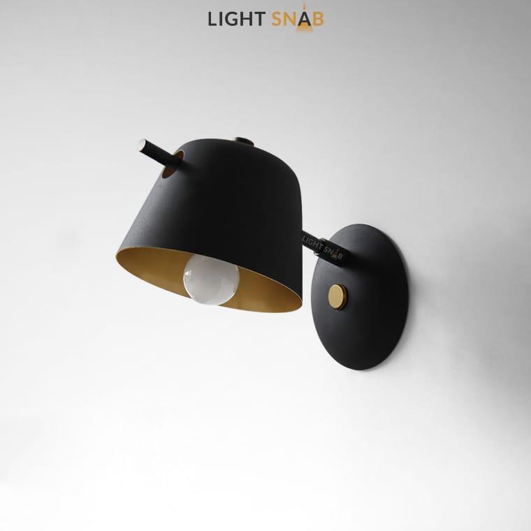 Настенный светильник Goda Wall цвет черный