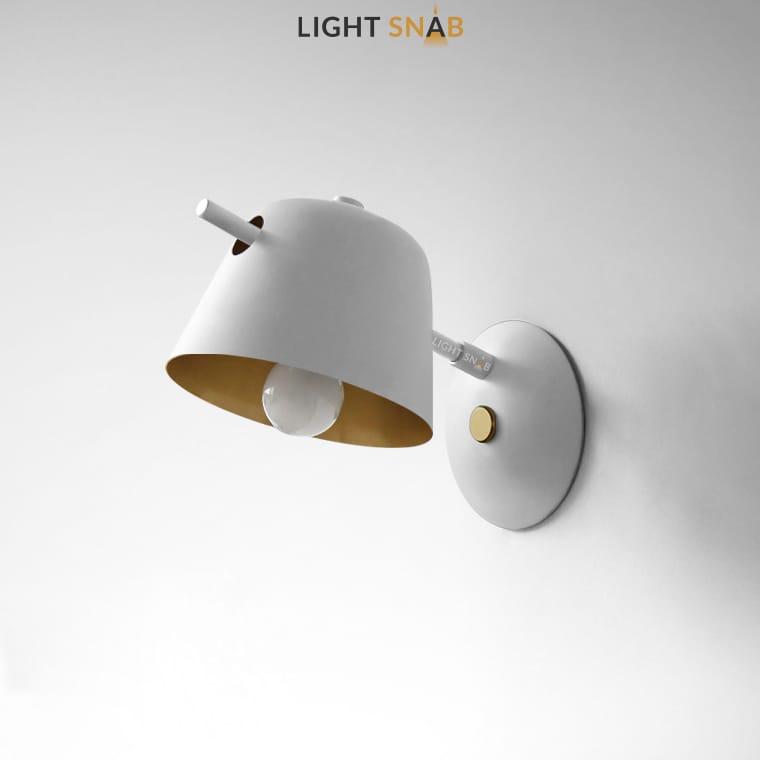 Настенный светильник Goda Wall цвет белый