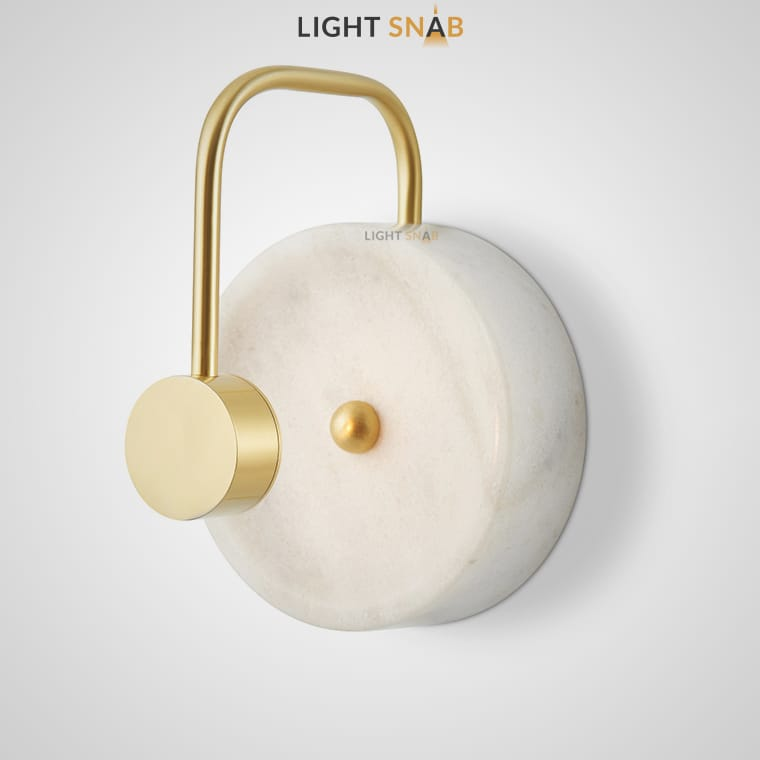 Светодиодное бра Gottby цвет белый мрамор