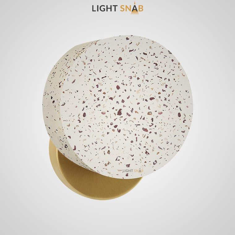 Настенный светильник Jord цвет терраццо