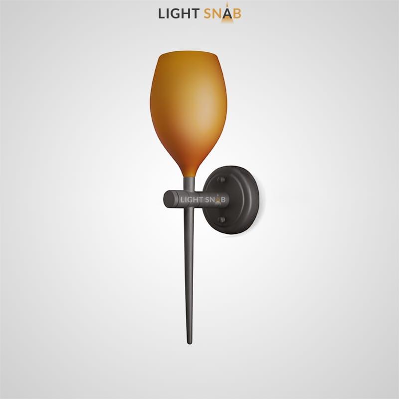 Настенный светильник Kai Wall цвет янтарь