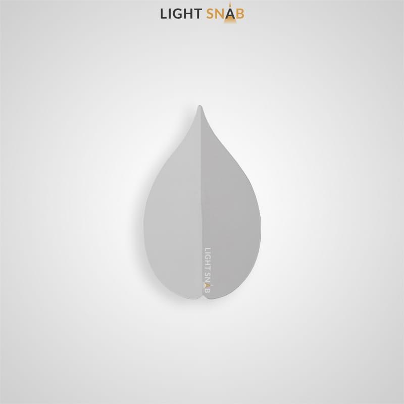 Настенный светодиодный светильник Lissen размер M цвет белый свет белый