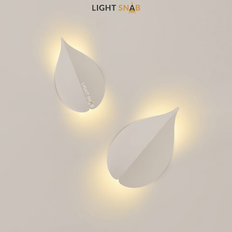 Настенный светодиодный светильник Lissen размер S цвет белый свет трехцветный