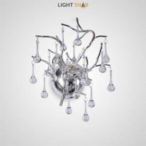 Настенный светильник Marian Silver W