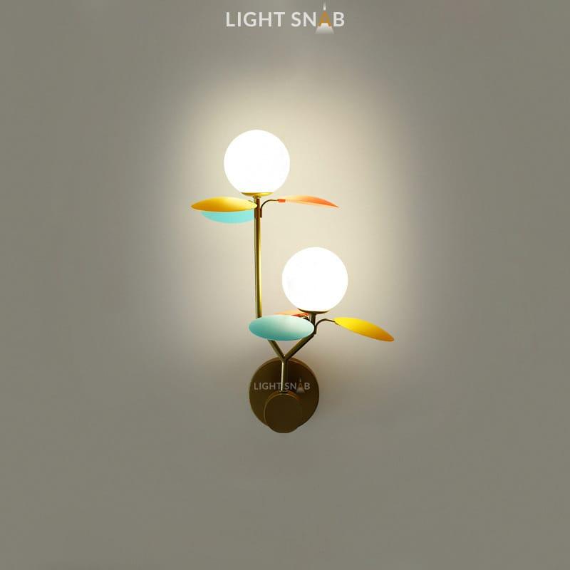 Настенный светильник Matisse Wall Duo цвет мультиколор