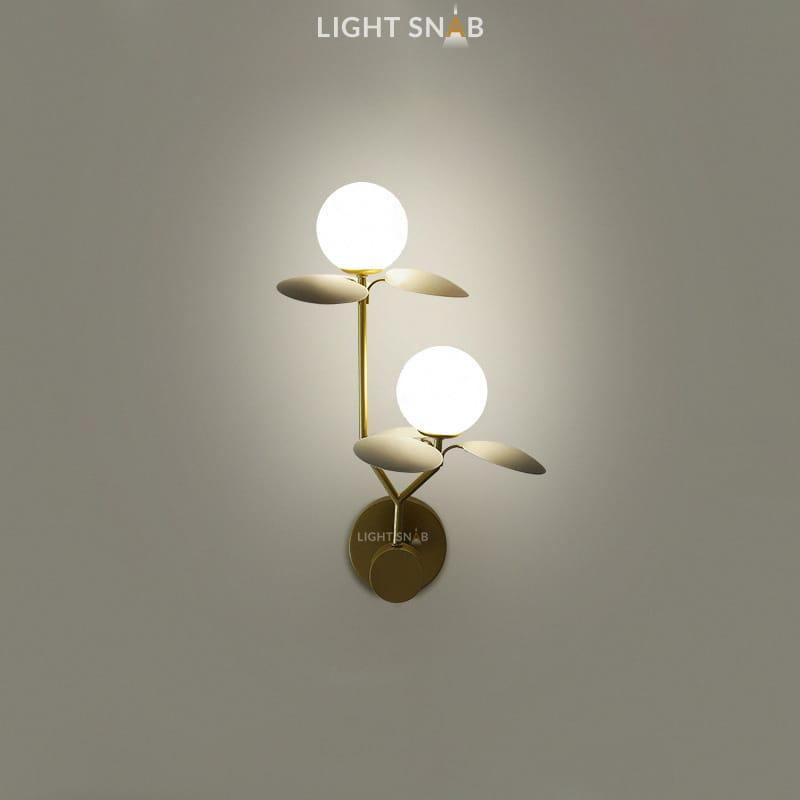 Настенный светильник Matisse Wall Duo цвет серый