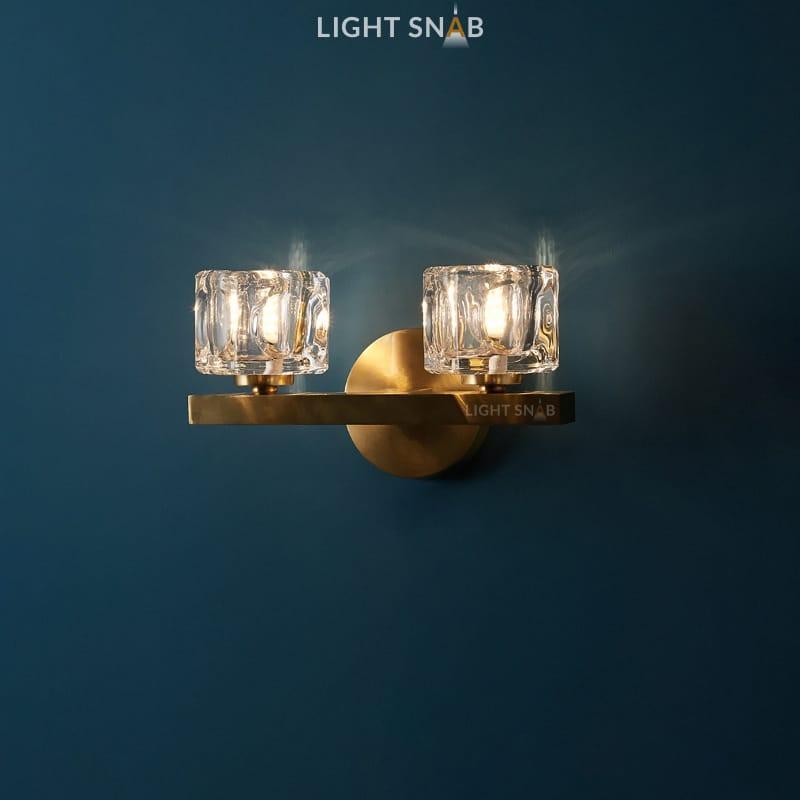 Настенный светильник Maura 2 лампы