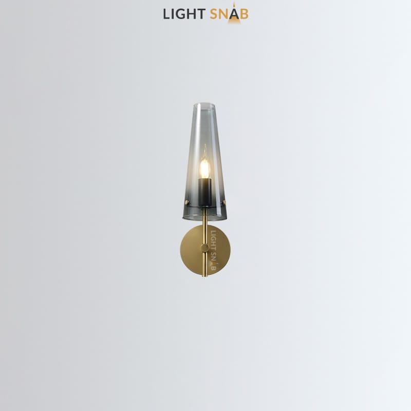 Настенный светильник Maxima Wall цвет латунь