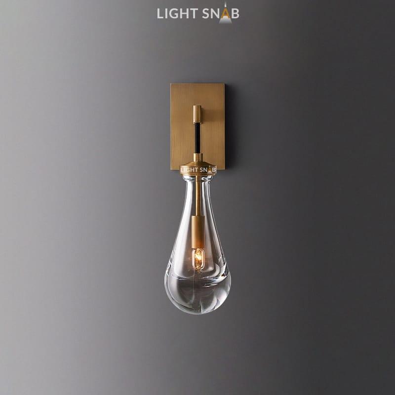 Настенный светильник Melany Wall цвет медь + черный