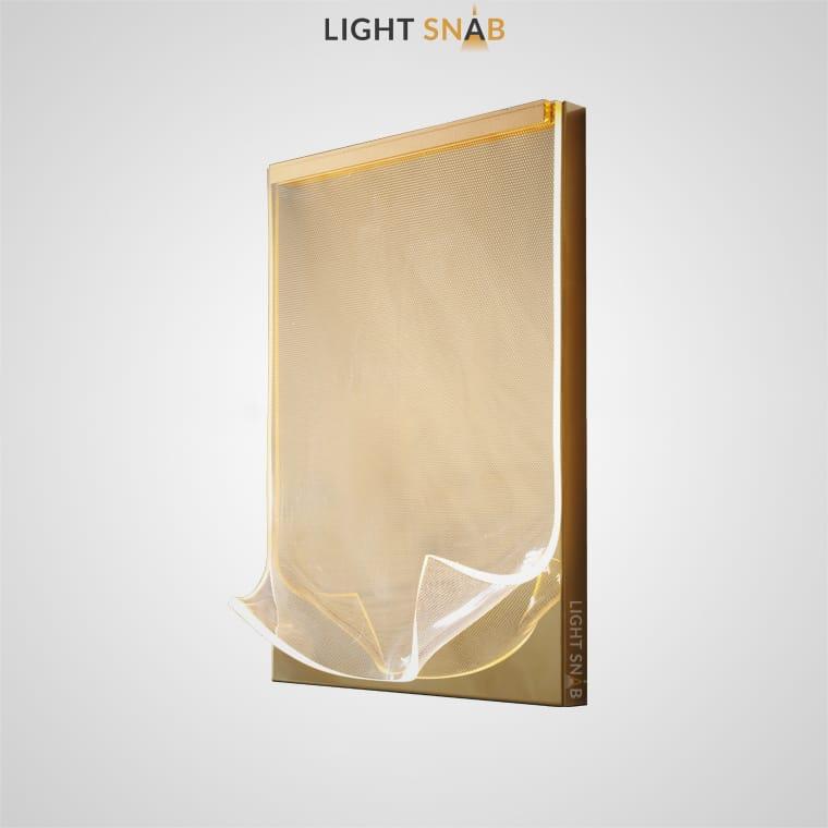 Настенный светодиодный светильник Miran Wall минималистичный