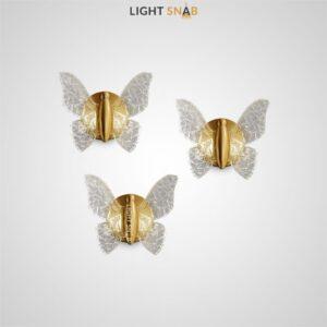 Настенный светодиодный светильник Naimi Wall