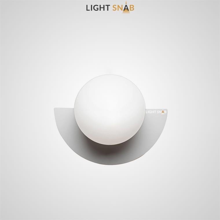 Настенный светодиодный светильник Orsa цвет серый