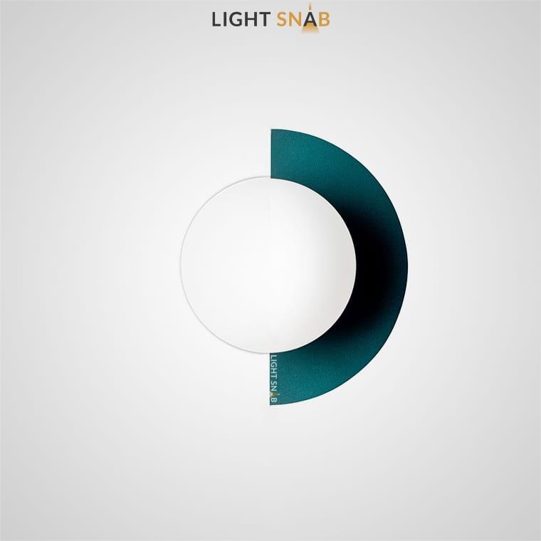 Настенный светодиодный светильник Orsa цвет зеленый