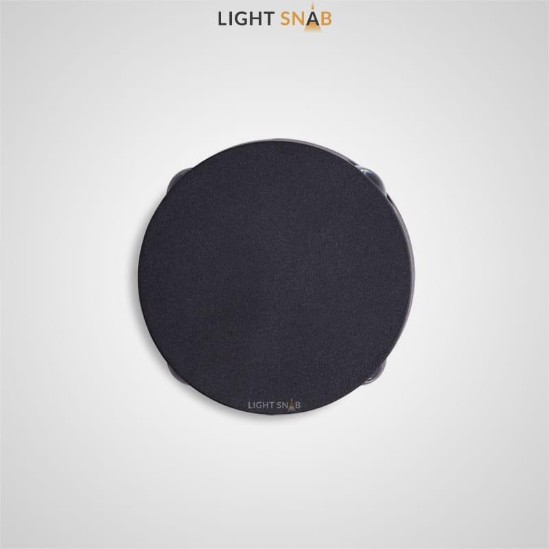 Настенный светодиодный светильник Port цвет черный