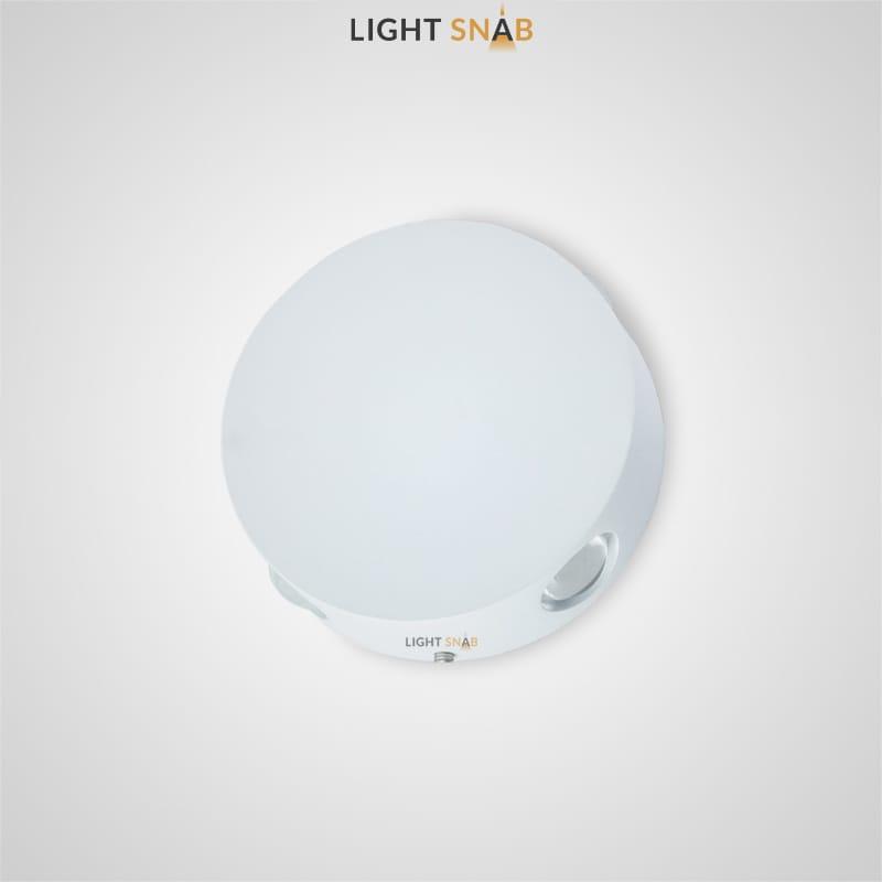Настенный светодиодный светильник Port цвет белый
