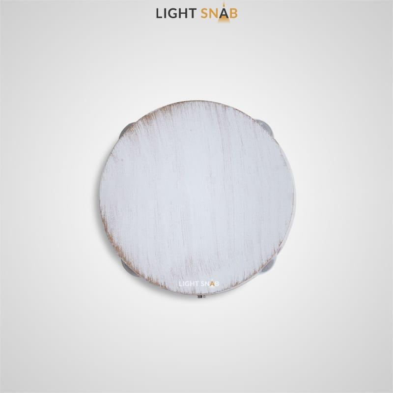 Настенный светодиодный светильник Port цвет белый + золото