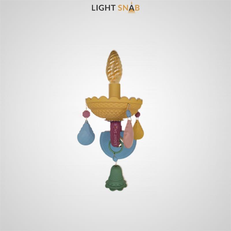 Настенный светильник Rainbow 6 Wall 1 лампа