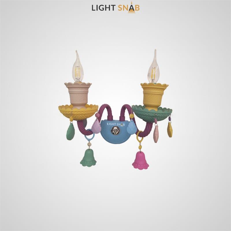 Настенный светильник Rainbow 6 Wall 2 лампы