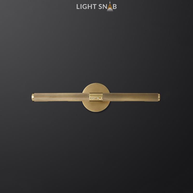 Настенный светильник Regent модель A цвет латунь