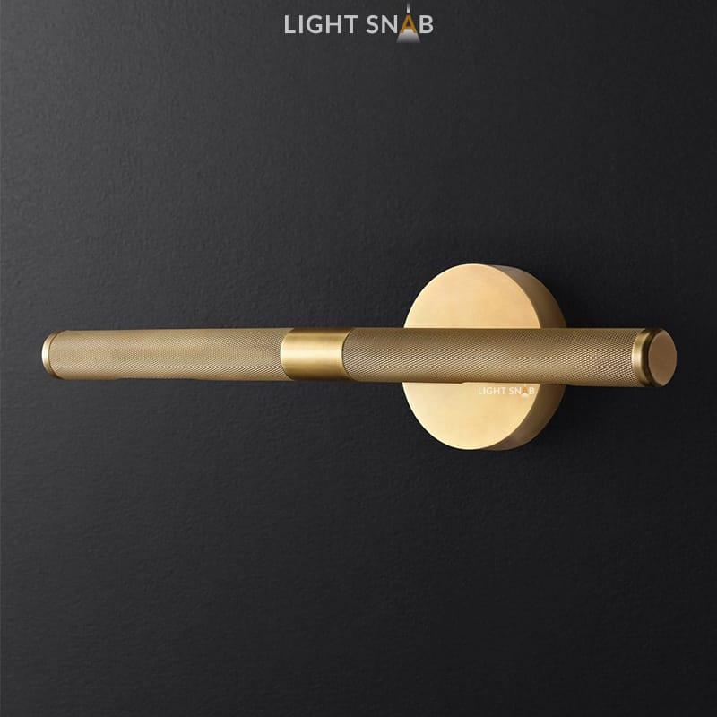 Настенный светильник Regent модель B цвет латунь