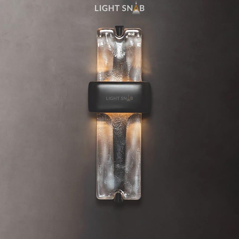 Настенный светодиодный светильник Rhyme цвет черный