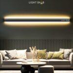 Настенный светодиодный светильник Riborg размер XXXL теплый свет