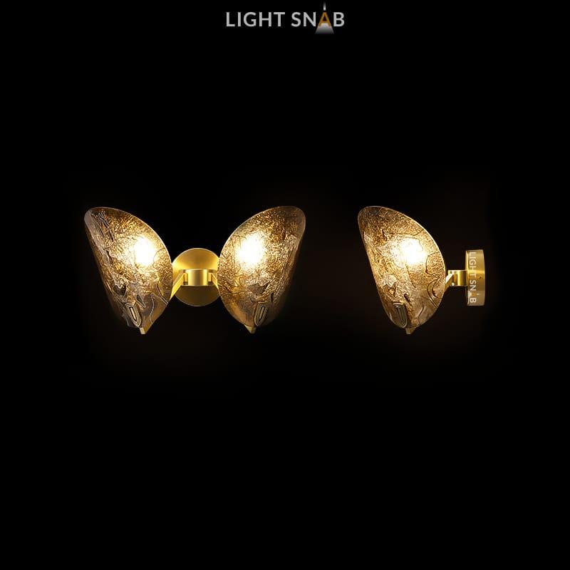 Настенный светильник Riffle Wall 2 лампы
