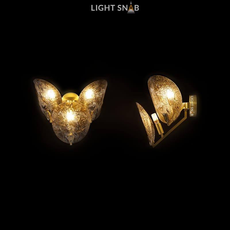 Настенный светильник Riffle Wall 3 лампы