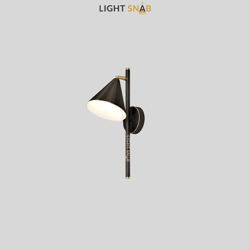 Настенный светильник Rigel Wall цвет черный