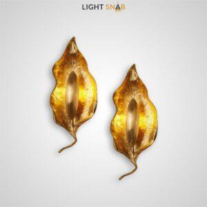 Дизайнерский настенный светильник Semiramis