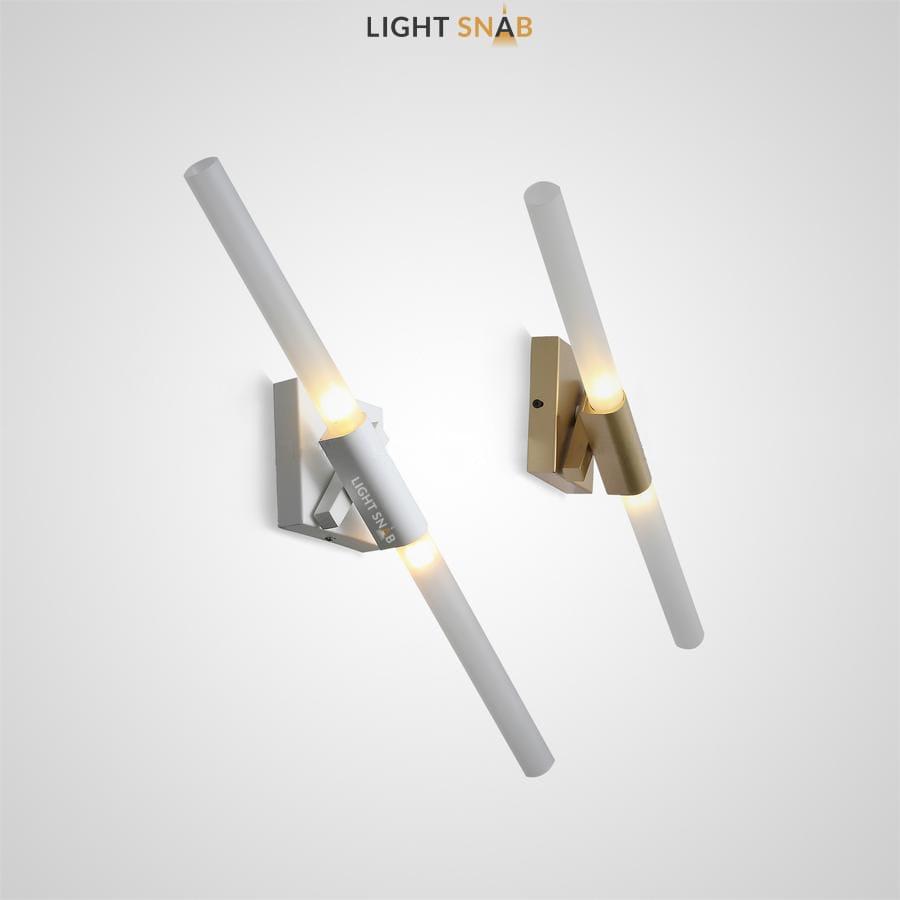 Настенный светильник Spada Wall с двойным цилиндрическим плафоном