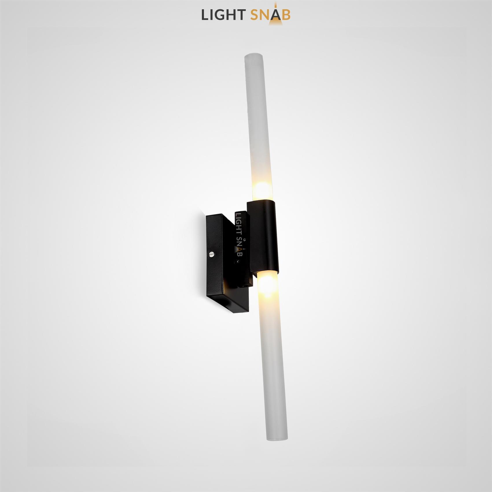 Настенный светильник Spada Wall цвет черный
