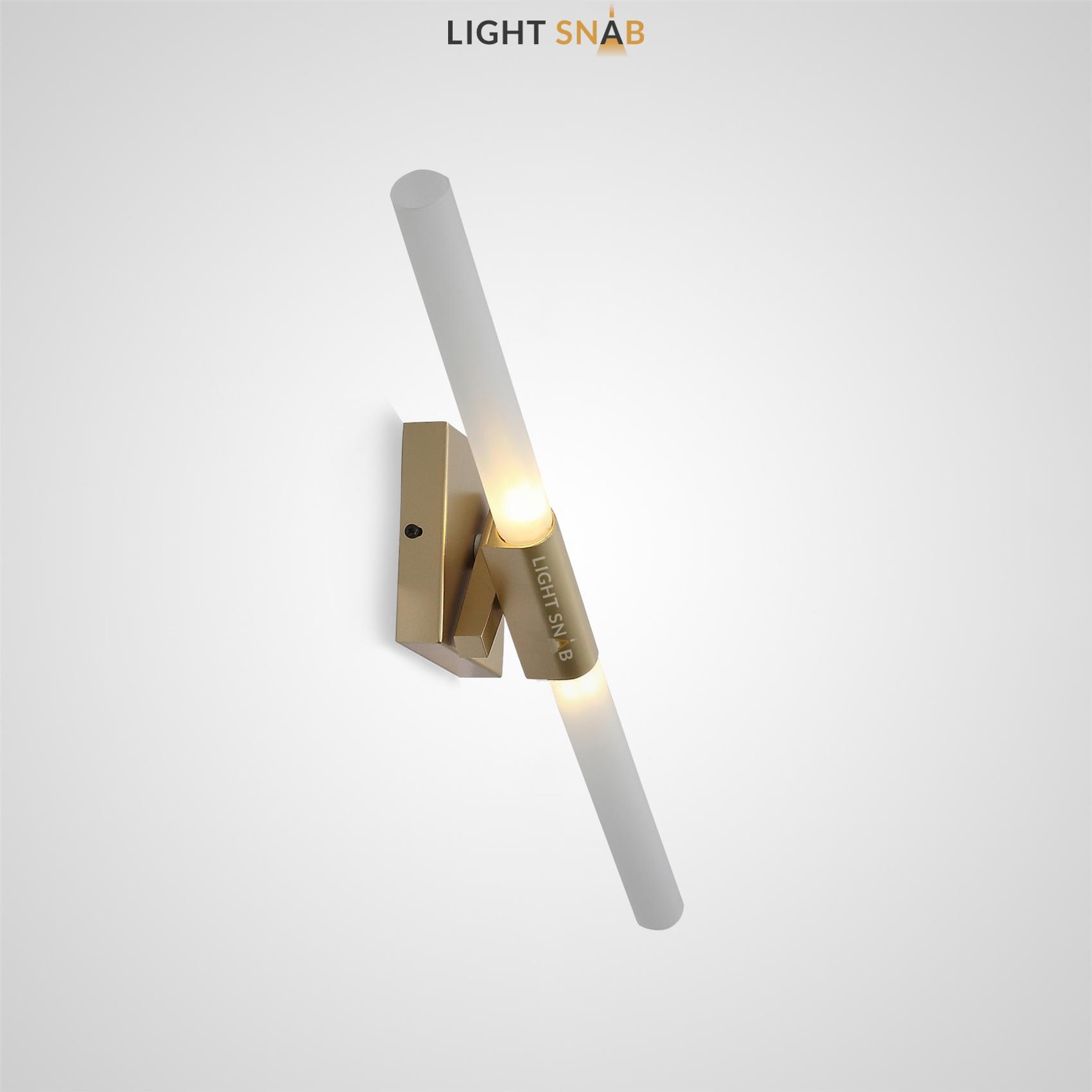 Настенный светильник Spada Wall цвет золото