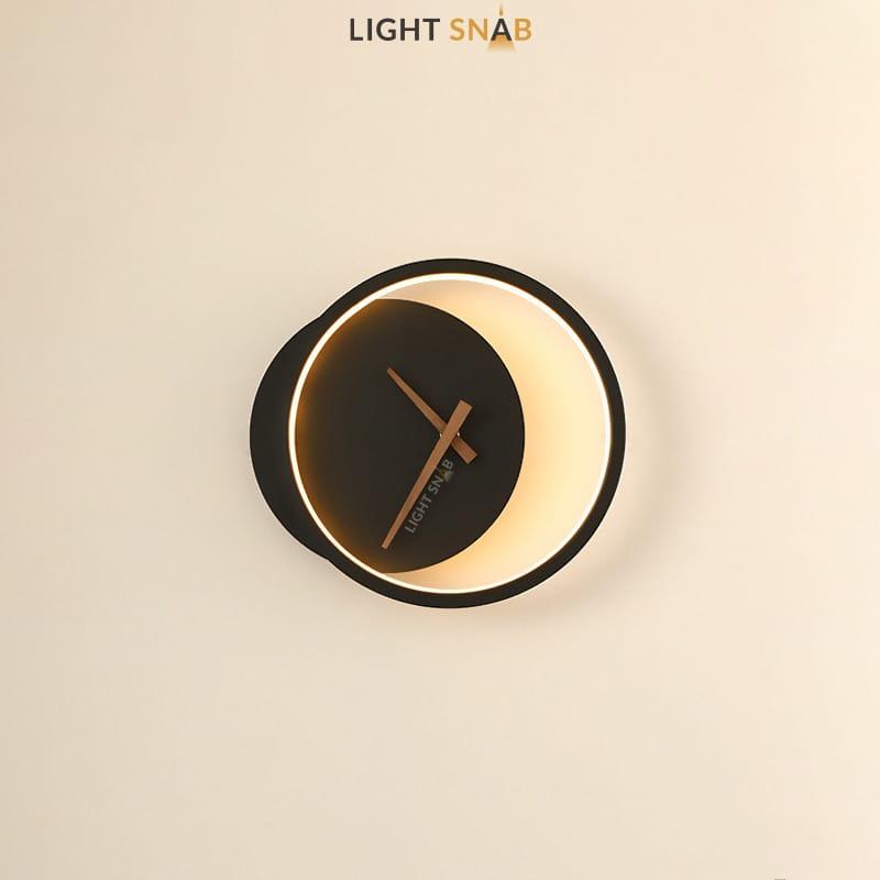 Настенный светильник Spenser модель A цвет черный