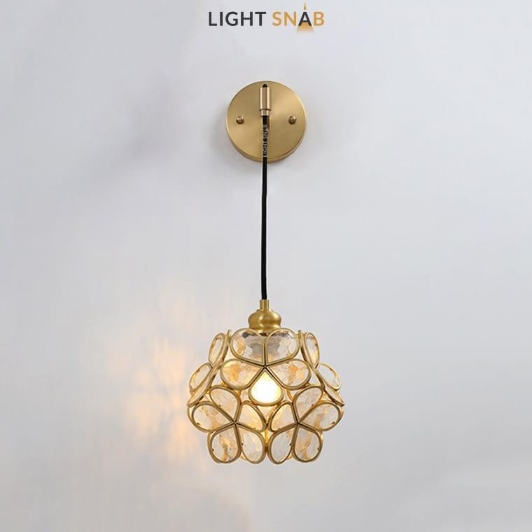 Настенный светильник-бра Sum Wall цвет прозрачный