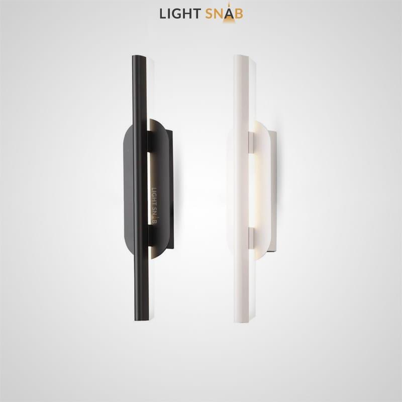 Светодиодный настенный светильник Suraet с направленной книзу световой панелью