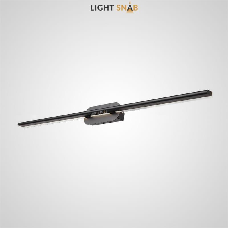 Светодиодный настенный светильник Suraet размер L цвет черный