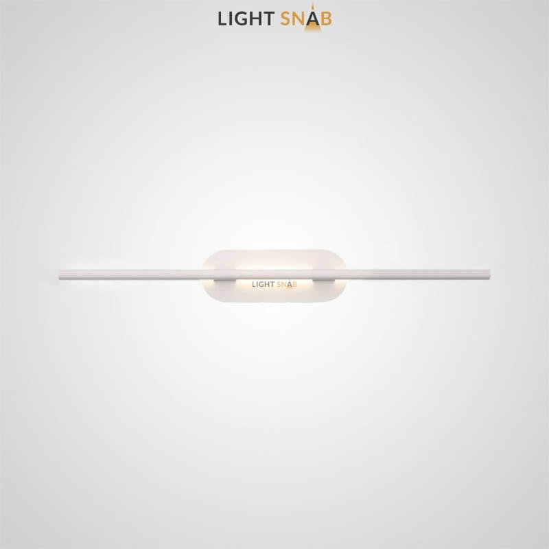 Светодиодный настенный светильник Suraet размер L цвет белый