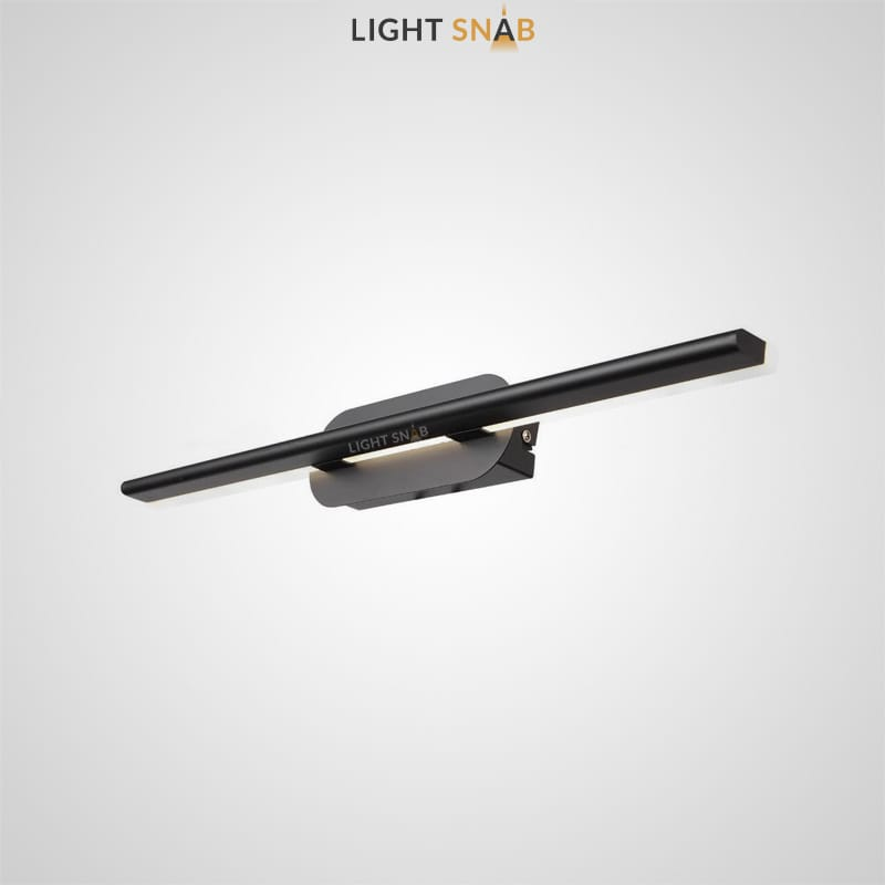 Светодиодный настенный светильник Suraet размер M цвет черный