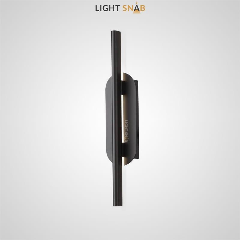 Светодиодный настенный светильник Suraet размер S цвет черный