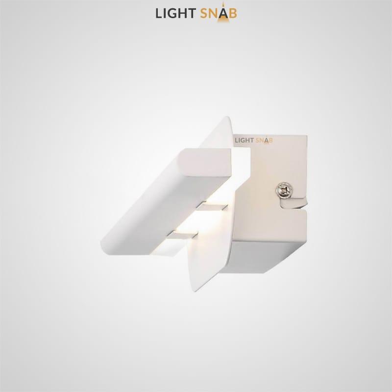 Светодиодный настенный светильник Suraet размер S цвет белый