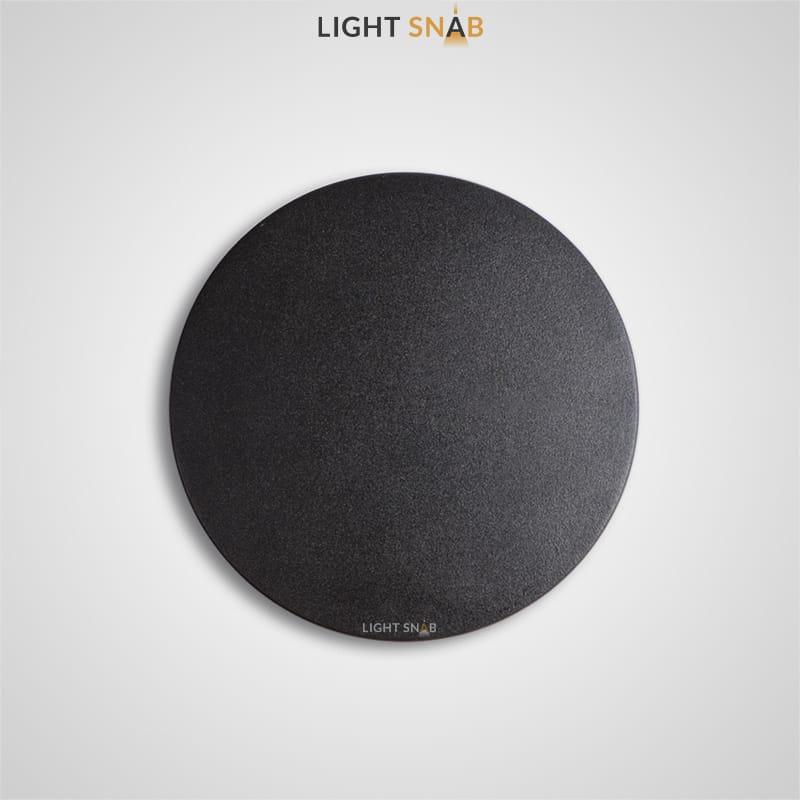 Настенный светодиодный светильник Talp размер S цвет черный
