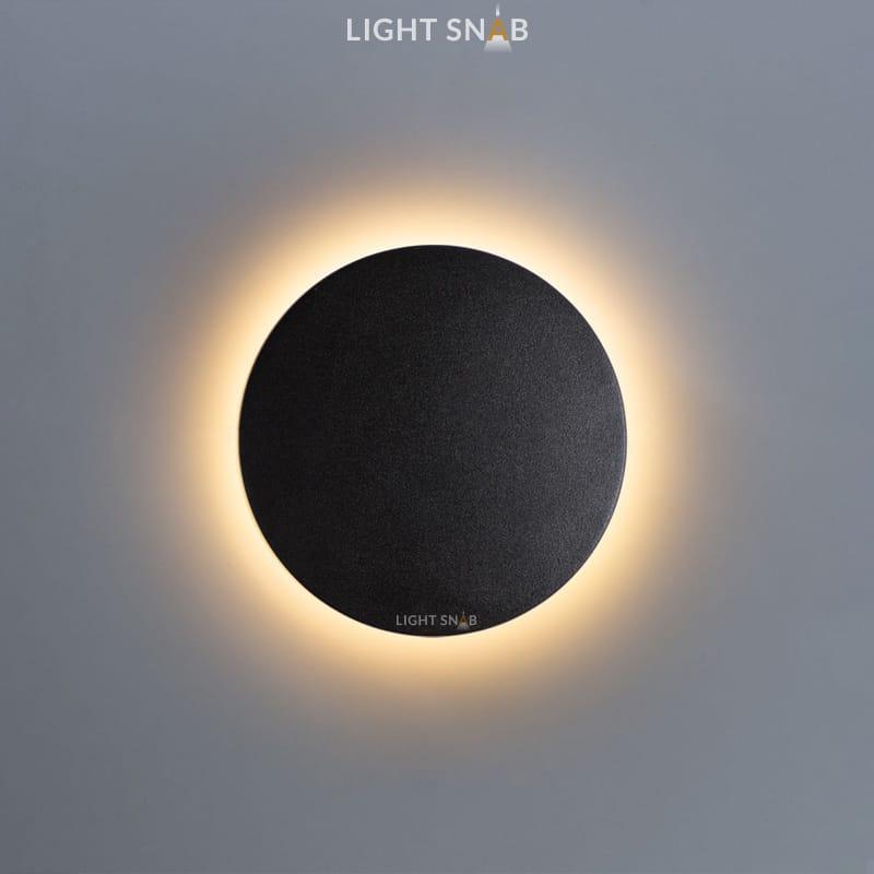 Настенный светодиодный светильник Talp размер M цвет черный