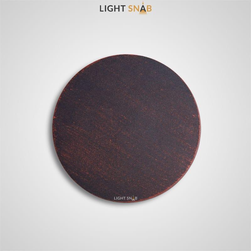 Настенный светодиодный светильник Talp размер S цвет медь