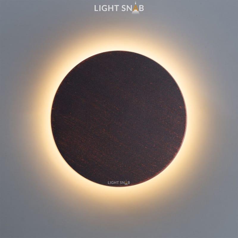 Настенный светодиодный светильник Talp размер M цвет медь