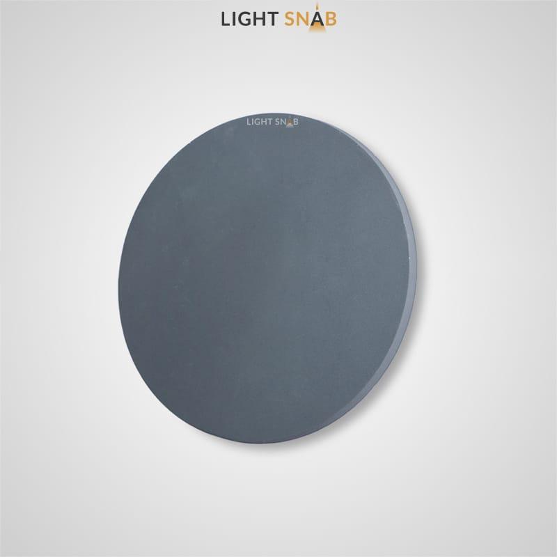 Настенный светодиодный светильник Talp размер S цвет серый